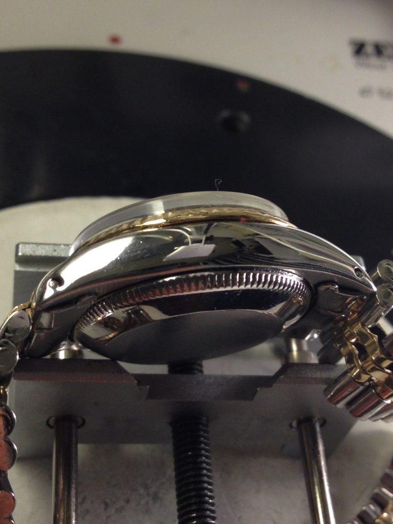 Restauro di casse e bracciali-Rolex datejust dopo il restauro 1