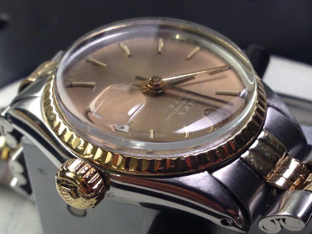 Restauro di casse e bracciali-Rolex datejust dopo il restauro 2
